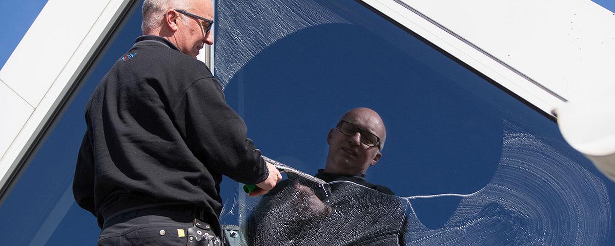 vinduepudsning Activ Rengøring