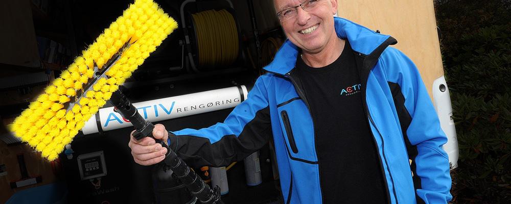 Activ rengøring og vinduespudsning - Ulrich